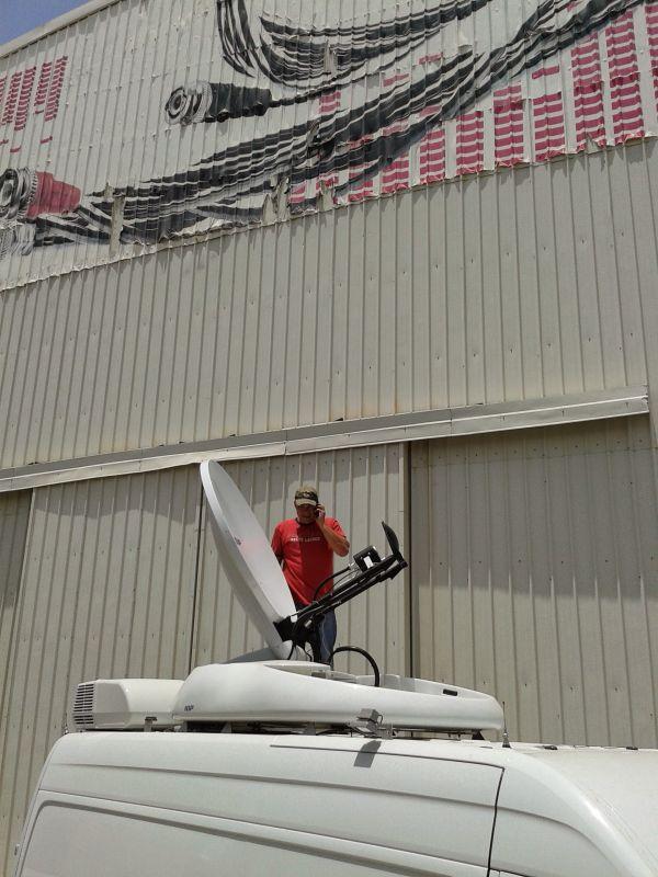 SNG 1:  Martijn kan bij 48*C het dak op....