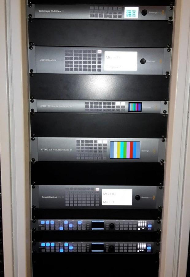 Video rack OB 1.