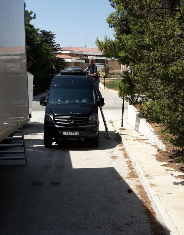 Michael vervangt schoten VViP voor mobile tv ontvangst.